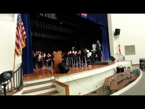 Tomlin middle school spring concert