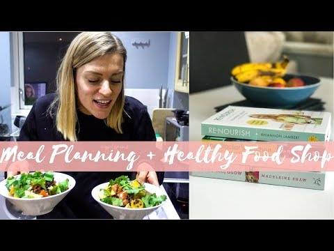 MEAL PLANNING + HEALTHY FOOD SHOP