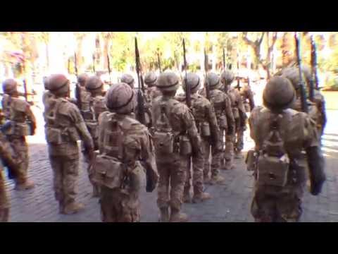 Arequipa peru military parade! POV PERU