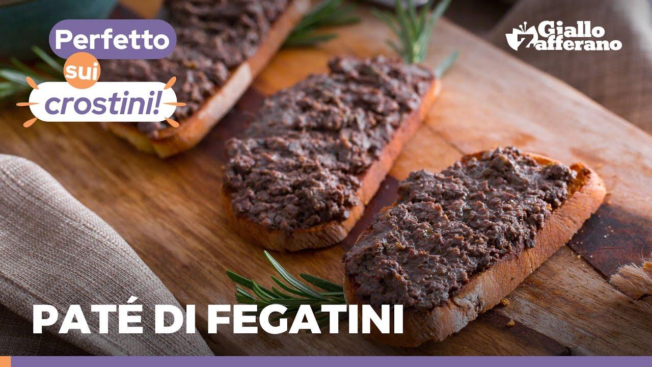PATÉ DI FEGATINI di POLLO sul crostino! 😋 Ricetta super facile e veloce direttamente dalla TOSCANA!