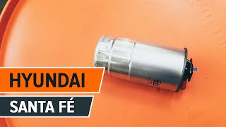 Wartung Hyundai Santa Fe sm Video-Tutorial