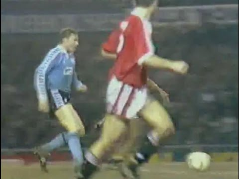 Manchester Utd v Middlesbrough 1991-92 LC SF FULL 1st HALF Radio Ali Brownlee commentary