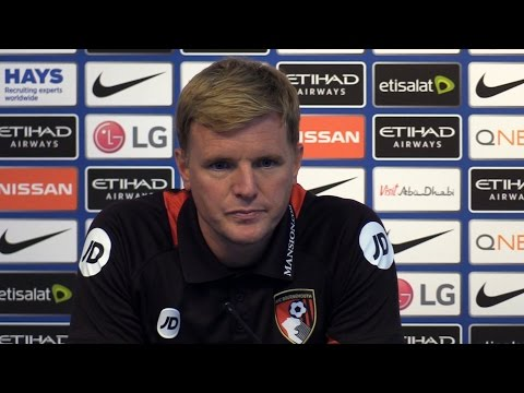 Manchester City 4-0 Bournemouth - Eddie Howe Full Post Match Press Conference