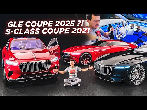 РУЛИМ НОВЫМИ S-Class Coupe 2021 и GLE 2025 в Германии?! Mercedes-Benz опять жарит! AMG. Maybach.
