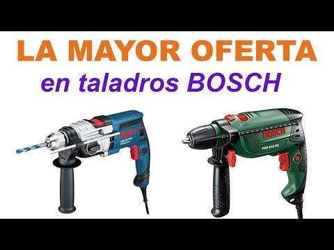 Taladro Bosch | La mayor oferta en taladros Bosch