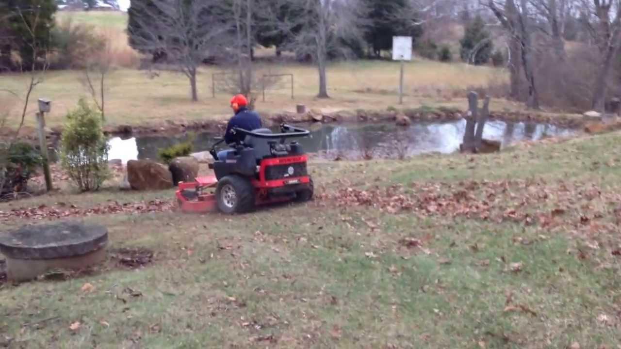 How Turn Leaves Mulch