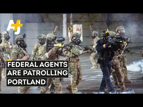 Federal Agents Unleash Violence on Portland Protestors Over The Weekend