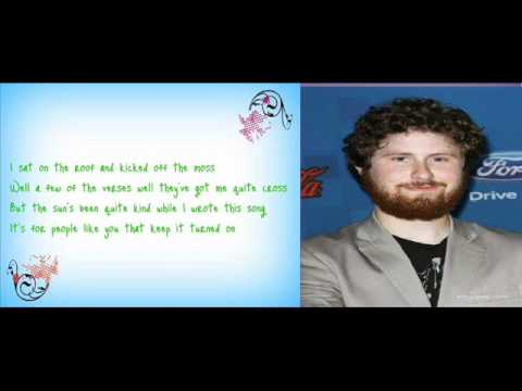 Casey Abrams - Your Song (Studio Version with Lyrics) American Idol Top 11