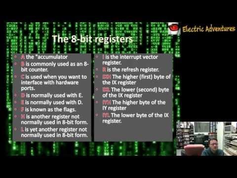 Lets Make A Retro Game - Episode 5 - Starting Z80 Assembler