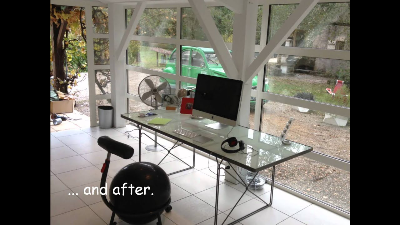 Conversion Shed Into Office In Monflanquin Oct 2011.wmv