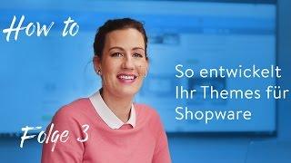 Folge 3: Tipps und Tricks an Hand des Shopware Fashion-Themes