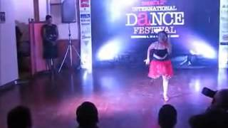 Pratistha salsa performance in nepal 2nd international salsa n dance festival 2011