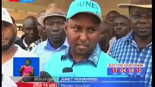 Junet Mohammed ajipata matatani