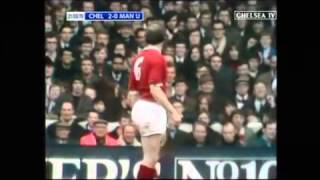 Chelsea v Manchester United Saturday 21st March 1970