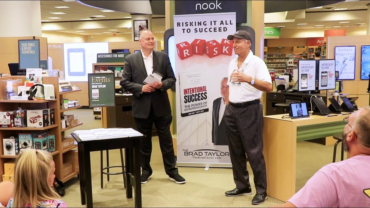 Book Signing at B&N in Sarasota with my dear friend and mentor Barry Cohen