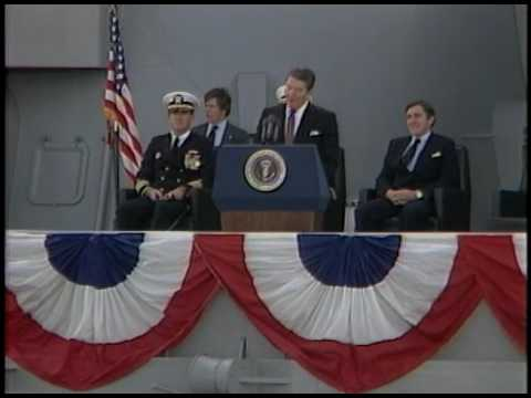 President Reagan's Remarks during the Recommissioning of USS New Jersey on December 28, 1982