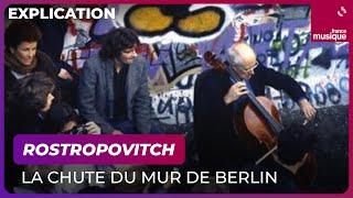 Rostropovitch devant le mur de Berlin, les dessous d'une image iconique