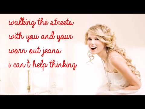 You Belg With Me Taylor Swift Lyrics
