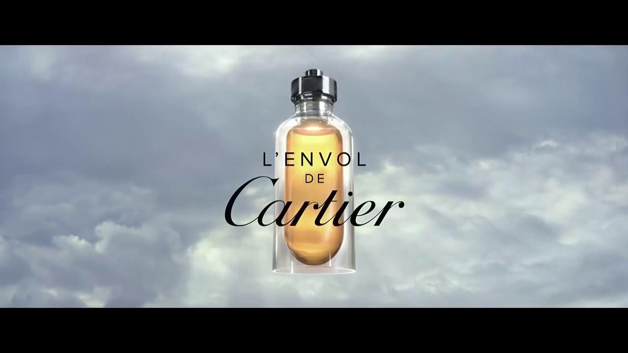pub l 39 envol eau de parfum homme cartier youtube. Black Bedroom Furniture Sets. Home Design Ideas