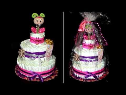 Торт из памперсов / Лайфхак / Как сделать торт из памперсов / Cake of diapers / Моя Dolce vita