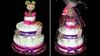 Торт из памперсов / Лайфхак / Как сделать торт из памперсов / Cake of diapers / Моя Dolce vita(Торт из памперсов / #Подгузники / Как сделать торт из памперсов / Лайфхак / Cake of diapers / Моя Dolce vita Памперсы №2..., 2016-07-11T08:51:42.000Z)