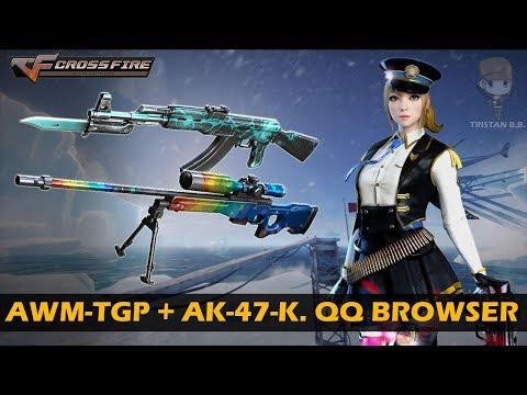 CrossFire Vietnam    AWM-A TGP & AK-47-Knife QQ Browser (No mark) (Showcase)
