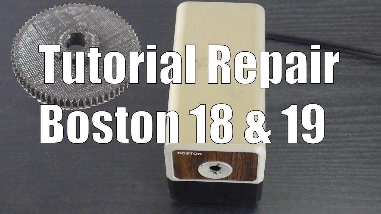 Tutorial How To Repair Hunt Boston Model 18 19 With Printed Gear