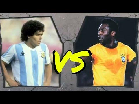 MARADONA O PELE'  CHI è il più FORTE giocatore della Storia del Calcio? #24