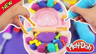 Play Doh Dr Drill and Fill Chơi khám răng quá kinh dị  - ToyStation 08