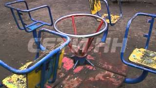 Десятилетняя девочка погибла на детской площадке