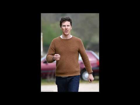 Benedict Cumberbatch enjoys a country walk