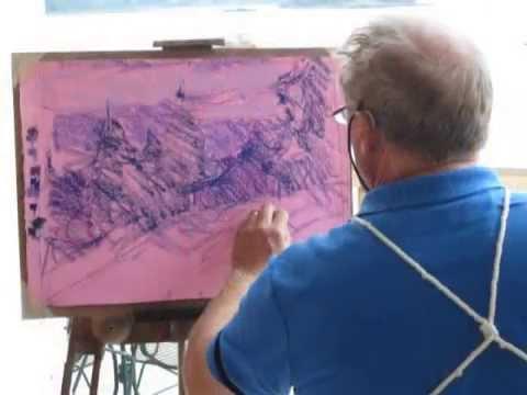 Plein Air Workshops with Doug Dawson, Master Pastellist