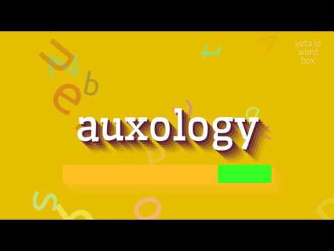 "How to say ""auxology""! (High Quality Voices)"