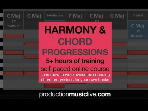 Info: Harmony and Chord Progressions Course by PML