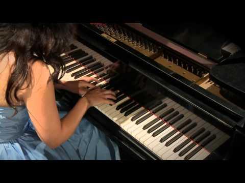 Katalin Zsubrits plays Debussy Arabesque No 2