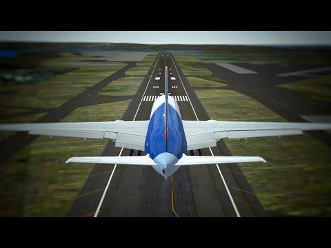 Infinite Flight Lan Cargo Boeing B777 - 200F ABORTED landing & go around at San Diego Airport