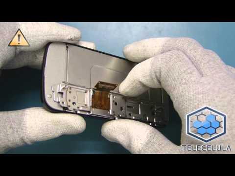 Tutorial Desmontagem Nokia C6-00 - Telecelula*