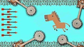 А ЭТО РЕАЛЬНО ПРОЙТИ? ЧТО МЫ СООРУДИЛИ!? ( Ultimate Chiken Horse )