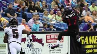Arena Football League - New Orleans Voodoo - Voodoo lesson 1