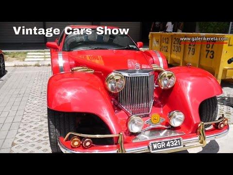 Vintage Classic Cars Velocity Motorshow 2016 | Galeri Kereta