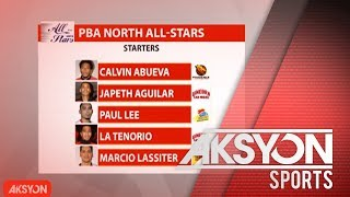 PBA All-Star lineups, kumpleto na