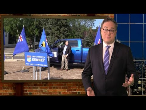 Alberta NDP's weird obsession with Jason Kenney's pickup truck