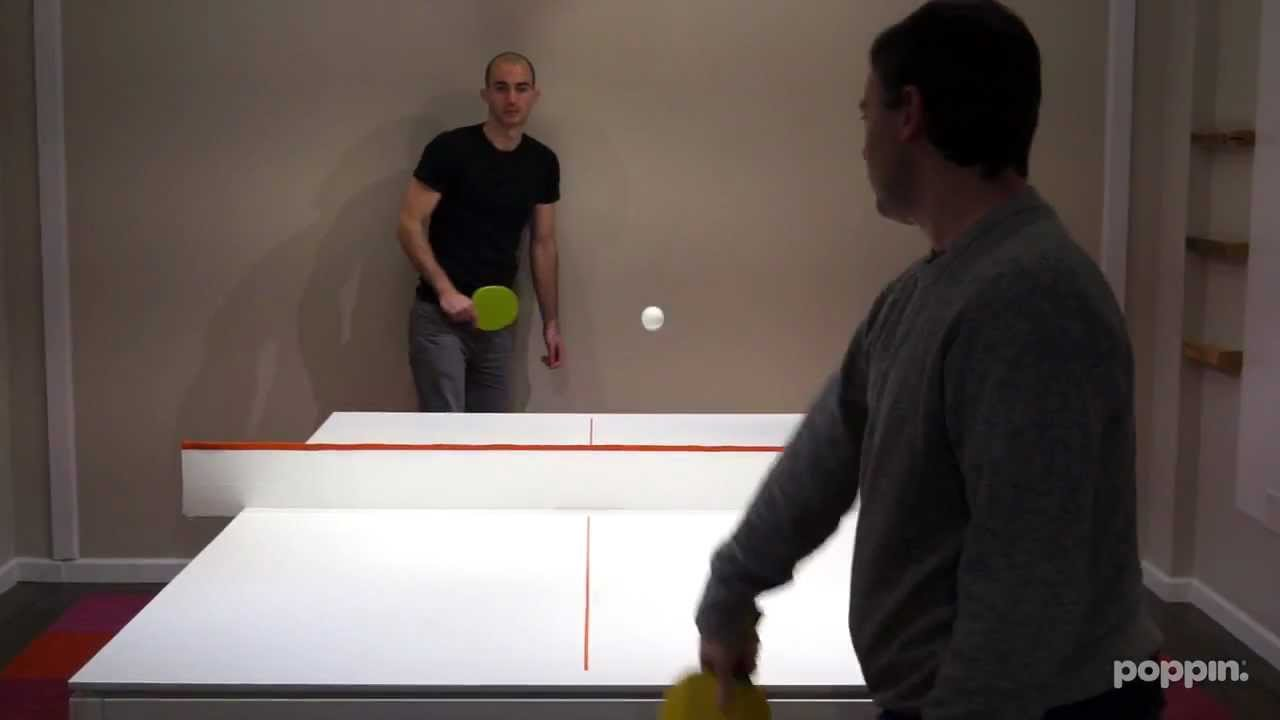 Meet The PingPong Conference Table YouTube - Table tennis conference table