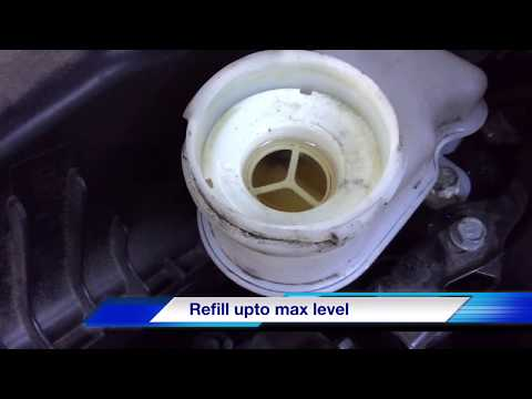 How to Change  ( Replace ) Brake fluid – Acura ILX  Honda Civic