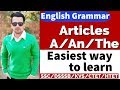 English Grammar | Articles- A,an,the | learn English in easy way | KVS,CTET,SSC,HTET,RTET