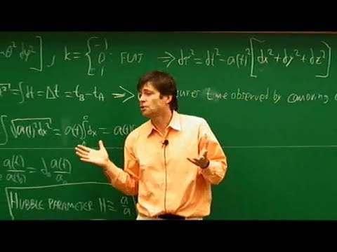 Cosmology, Max Tegmark   Lecture 1 of 3