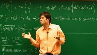 Cosmology, Max Tegmark | Lecture 1 of 3