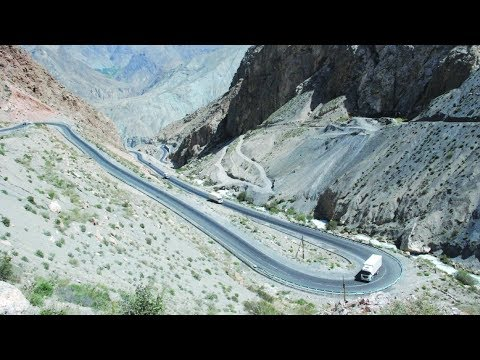 China-built Road Improves Tajikistan's Transport System