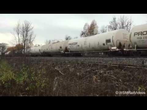 WSMRailVideos,CN 368, West Island,Montreal