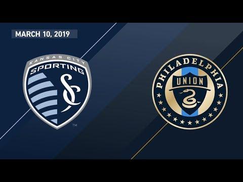 Sporting Kansas City vs. Philadelphia Union   HIGHLIGHTS - March 10, 2019